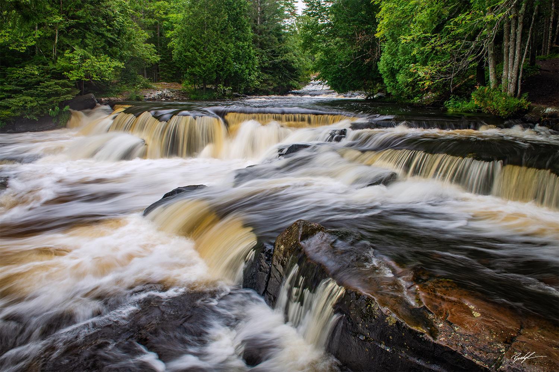 Upper Bond Falls, Upper Peninsula, Michigan