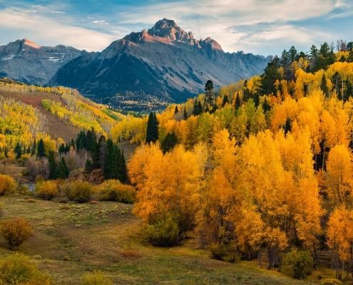 Cimarron Range Autumn Colorado
