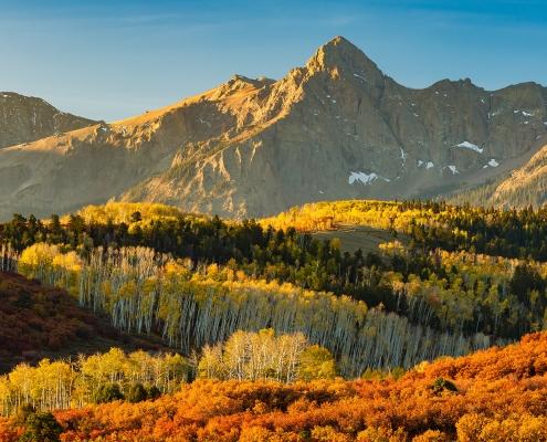 Sneffels Range Autumn San Juan Mountains Colorado