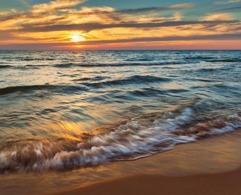 Lake Michigan Sunset Little Sable Point